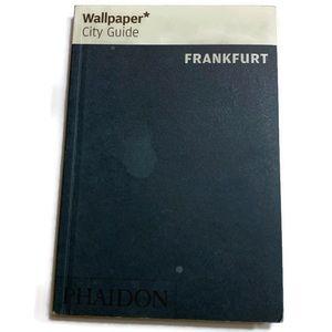"Wallpaper* City Guide Frankfurt 4.25""x 6.25""."